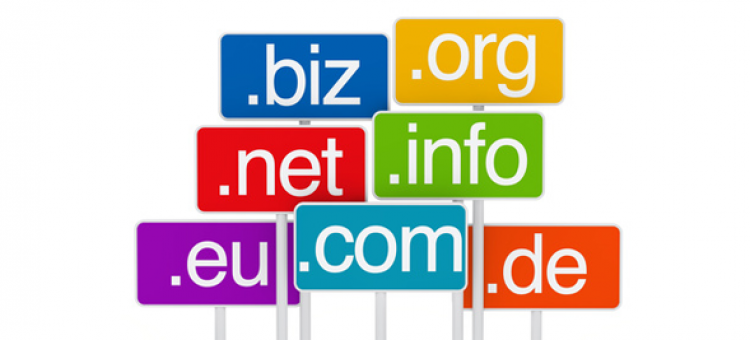 Length of domain names from popular websites